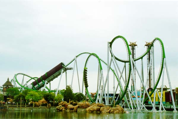 Islands of Adventure Hulk Coaster