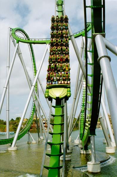 hulk roller coaster double